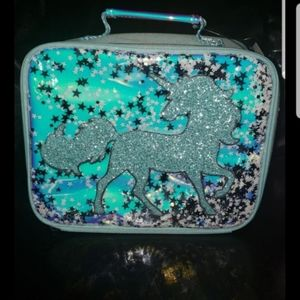 New with tags justice unicorn lunchbox